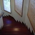 ヴィラの階段