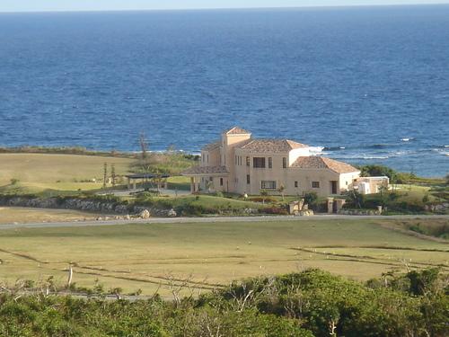 海沿いの別荘